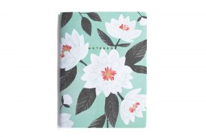 1canoe2 floral notebook