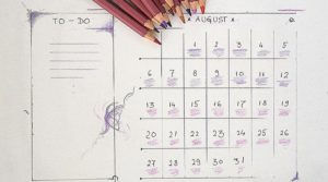 A list of Monthly Planners